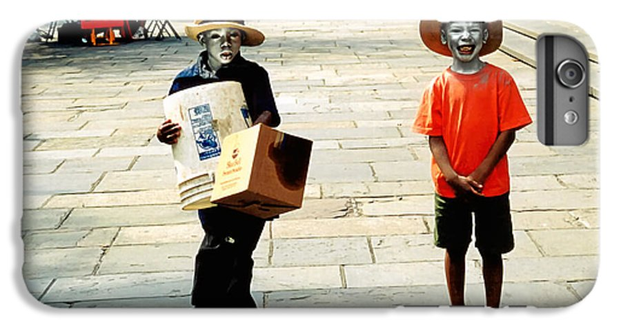 Big Easy IPhone 6 Plus Case featuring the photograph Memories Of A Better Time The Children Of New Orleans by Christine Till