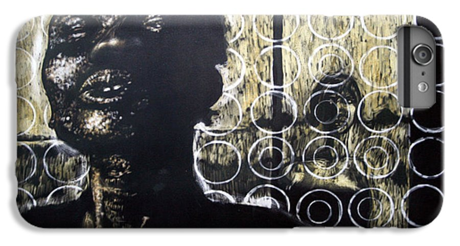 IPhone 6 Plus Case featuring the mixed media Memories Of Our Parting by Chester Elmore