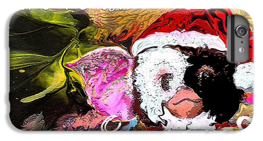 Fantasy Painting IPhone 6 Plus Case featuring the painting Messiah Found by Miki De Goodaboom