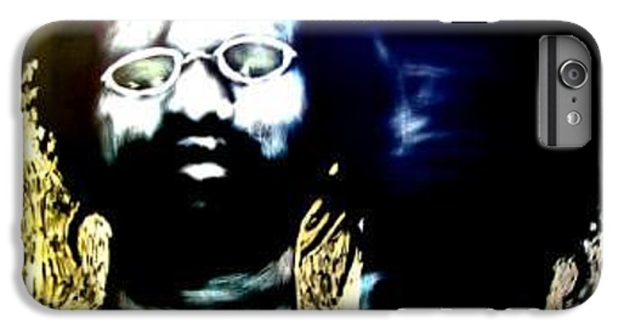Life Commentary IPhone 6 Plus Case featuring the mixed media Midway We Meet by Chester Elmore