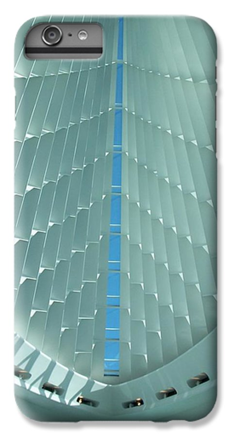 Mam IPhone 6 Plus Case featuring the photograph Milwaukee Art Museum Interior by Anita Burgermeister