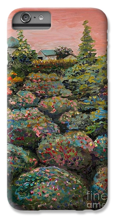 Minnesota IPhone 6 Plus Case featuring the painting Minnesota Memories by Nadine Rippelmeyer