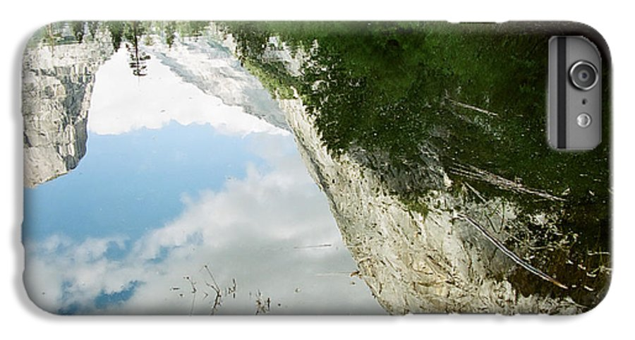 Mirror Lake IPhone 6 Plus Case featuring the photograph Mirrored by Kathy McClure