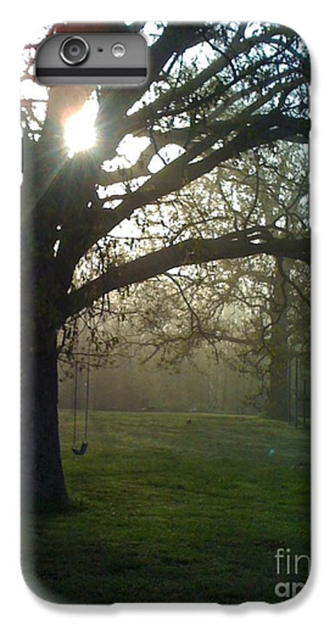 Mist IPhone 6 Plus Case featuring the photograph Misty Morning by Nadine Rippelmeyer