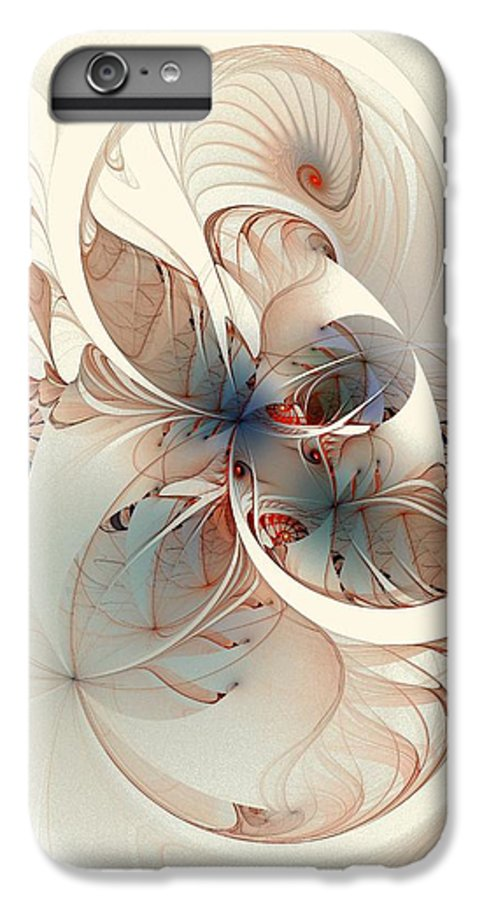 IPhone 6 Plus Case featuring the digital art Mollusca by Amanda Moore