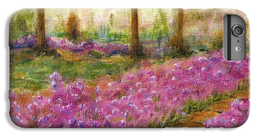 Monet IPhone 6 Plus Case featuring the painting Monet's Garden In Cannes by Jerome Stumphauzer