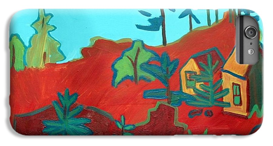 Beach IPhone 6 Plus Case featuring the painting Monhegan Hue by Debra Bretton Robinson