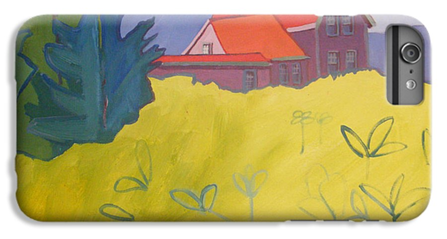 Lighthouse IPhone 6 Plus Case featuring the painting Monhegan Light by Debra Bretton Robinson
