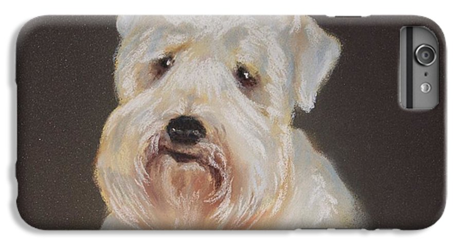Pet IPhone 6 Plus Case featuring the painting Monique's Bailey by Carol Mueller