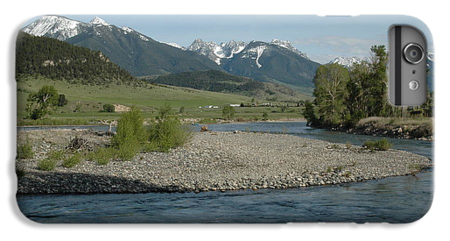 Stream IPhone 6 Plus Case featuring the photograph Montana Stream by Kathy Schumann