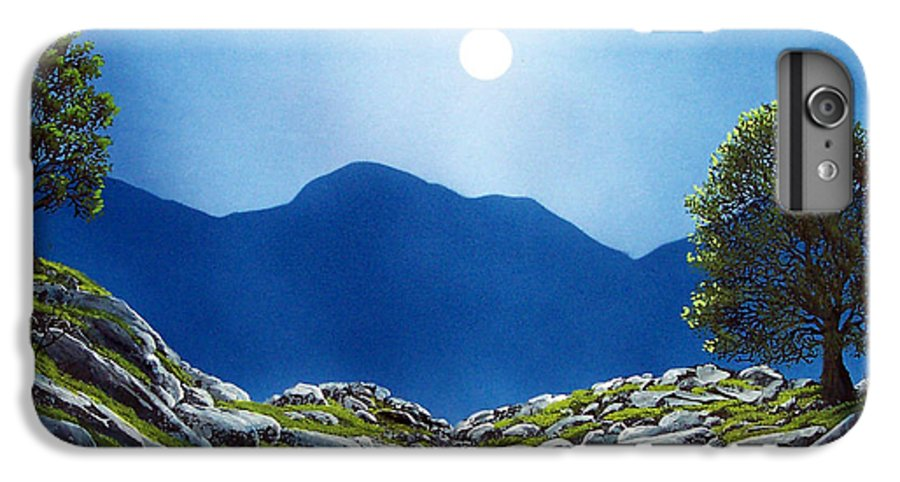 Landscape IPhone 6 Plus Case featuring the painting Moonrise by Frank Wilson
