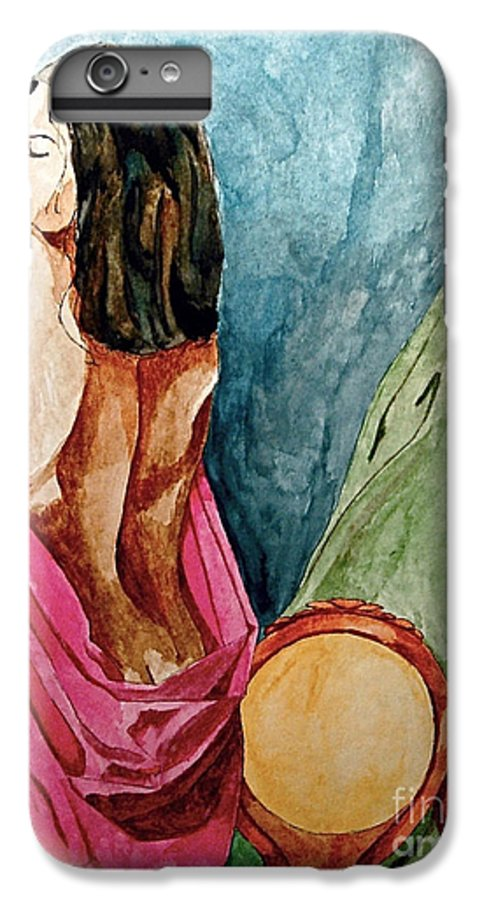 Nudes Women IPhone 6 Plus Case featuring the painting Morning Light by Herschel Fall