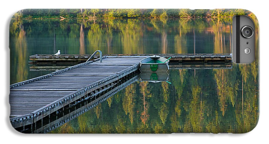 Dock IPhone 6 Plus Case featuring the photograph Morning Light by Idaho Scenic Images Linda Lantzy