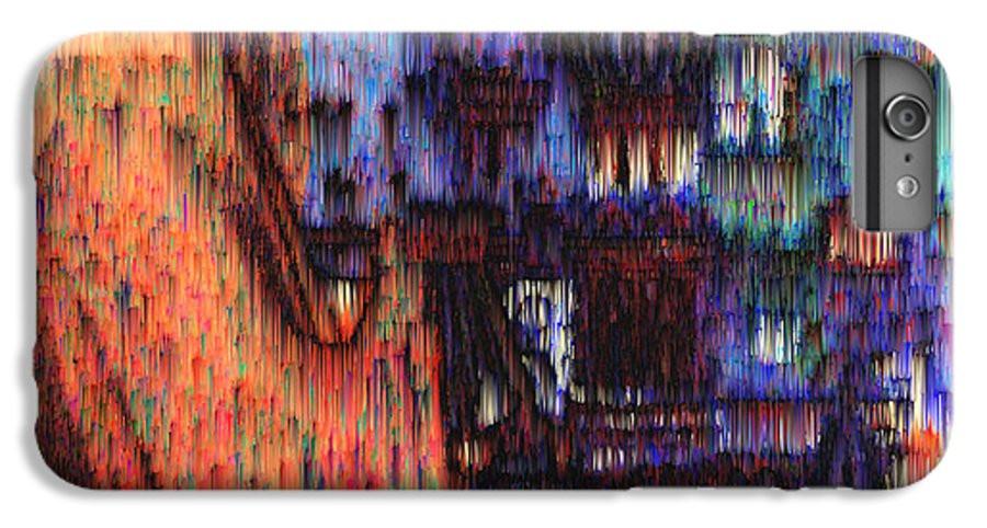 Fog IPhone 6 Plus Case featuring the digital art Moscow In The Rain by Seth Weaver
