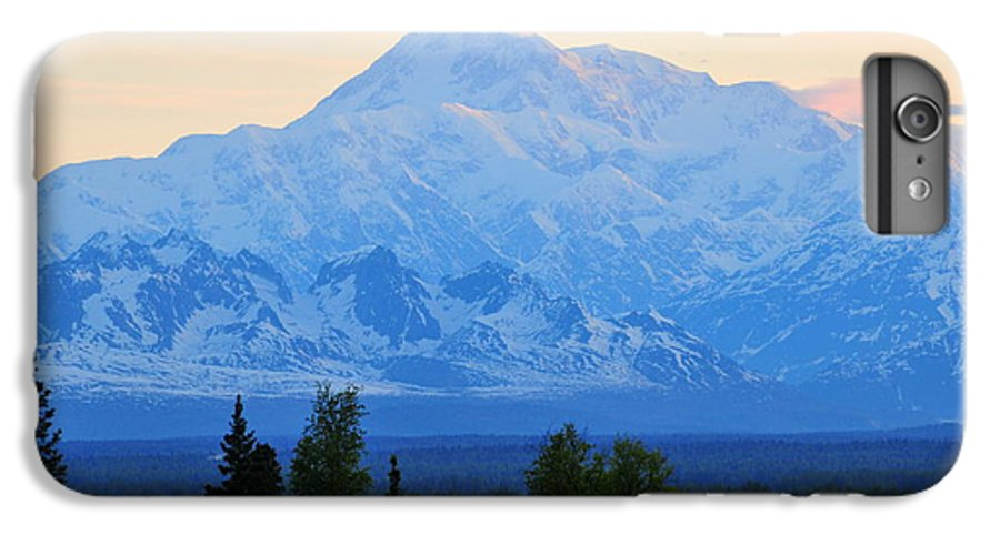 Mount Mckinley IPhone 6 Plus Case featuring the photograph Mount Mckinley by Keith Gondron