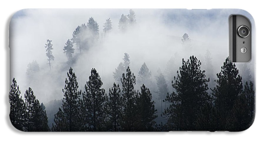 Fog IPhone 6 Plus Case featuring the photograph Mountain Mist by Idaho Scenic Images Linda Lantzy