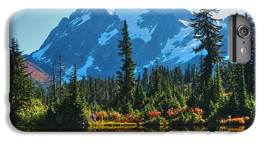 Mt. Shuksan IPhone 6 Plus Case featuring the photograph Mt. Shuksan by Idaho Scenic Images Linda Lantzy