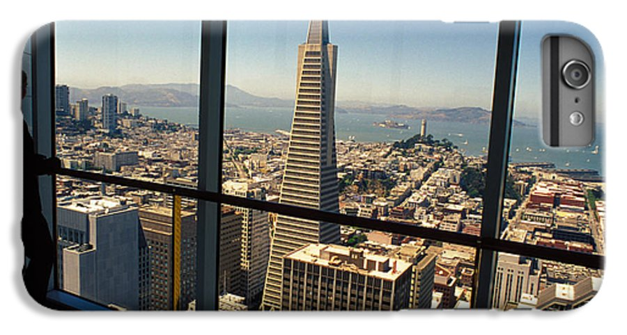 San Francisco IPhone 6 Plus Case featuring the photograph My City On The Bay by Carl Purcell