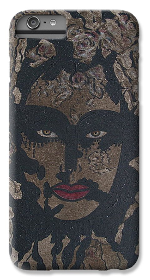 Figurative IPhone 6 Plus Case featuring the painting Mysterious Desire by Natalie Holland