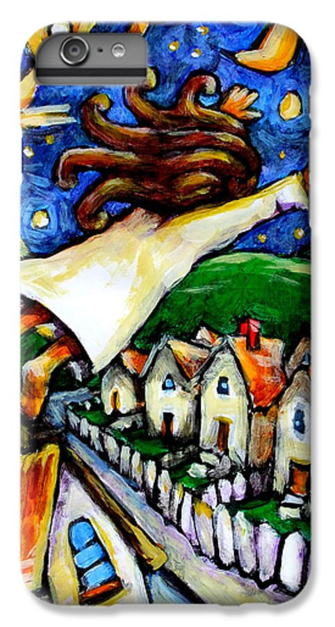 Children IPhone 6 Plus Case featuring the painting Night Fall by Chad Elliott
