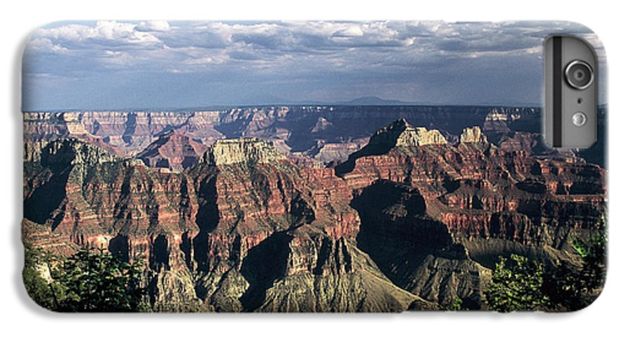 Grand Canyon; National Parks IPhone 6 Plus Case featuring the photograph North Rim by Kathy McClure