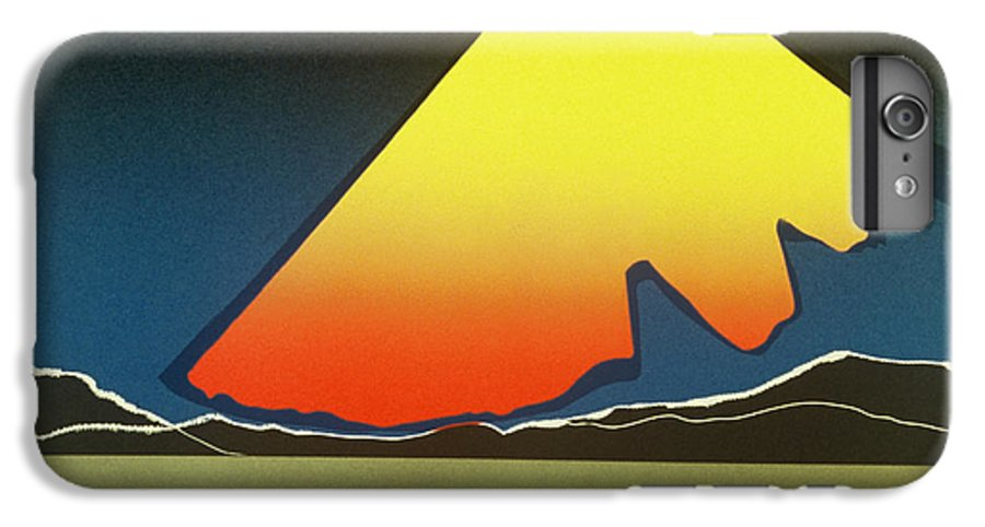 Landscape IPhone 6 Plus Case featuring the mixed media Northern Light. by Jarle Rosseland