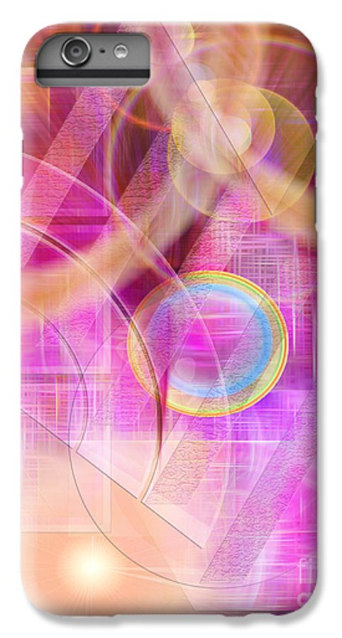 Northern Lights IPhone 6 Plus Case featuring the digital art Northern Lights by John Beck