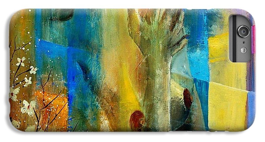 Nude IPhone 6 Plus Case featuring the painting Nude 5609082 by Pol Ledent