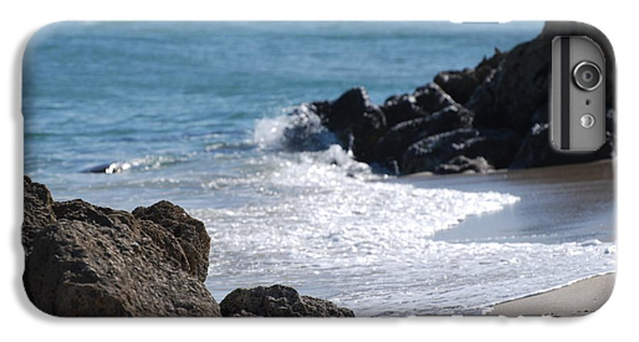 Sea Scape IPhone 6 Plus Case featuring the photograph Ocean Rocks by Rob Hans