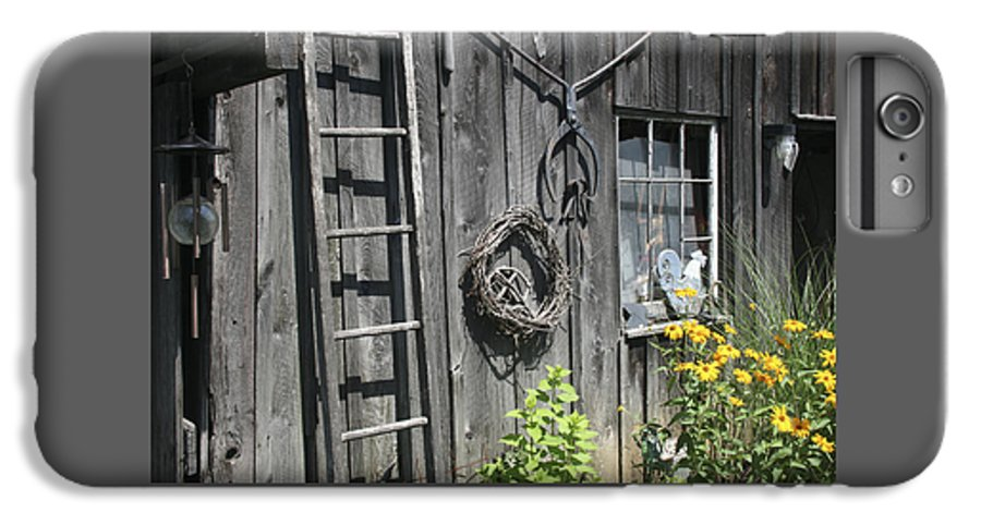 Barn IPhone 6 Plus Case featuring the photograph Old Barn II by Margie Wildblood