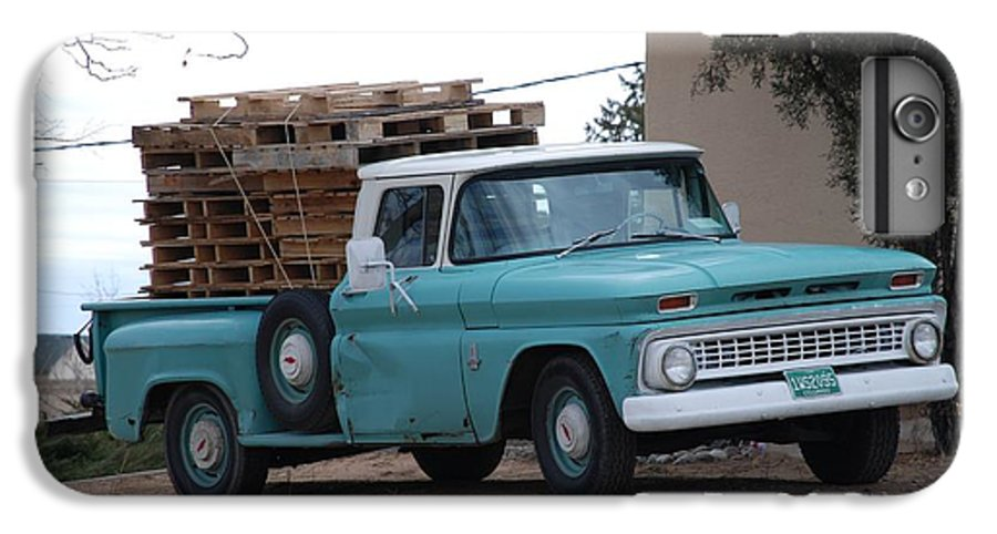 Old Truck IPhone 6 Plus Case featuring the photograph Old Chevy by Rob Hans