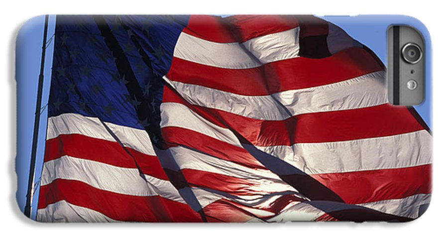 American IPhone 6 Plus Case featuring the photograph Old Glory by Carl Purcell