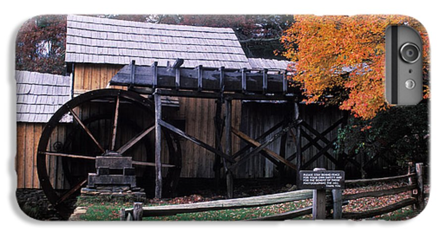 Waterwheel IPhone 6 Plus Case featuring the photograph Old Mill In Virginia by Carl Purcell
