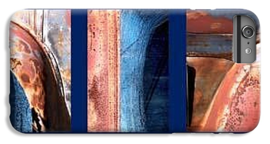 Abstract IPhone 6 Plus Case featuring the photograph Ole Bill by Steve Karol