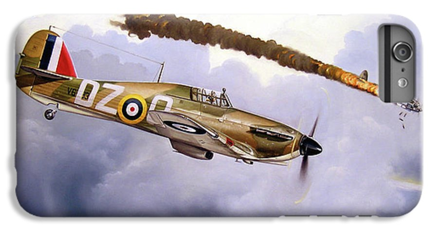 Aviation Art IPhone 6 Plus Case featuring the painting One Of The Few by Marc Stewart