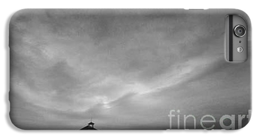 Landscape IPhone 6 Plus Case featuring the photograph One Room Schoolhouse by Michael Ziegler