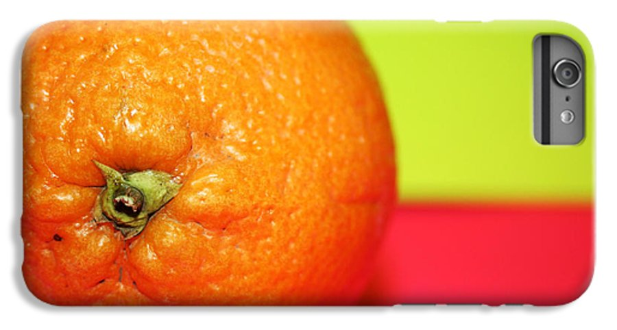 Oranges IPhone 6 Plus Case featuring the photograph Orange by Linda Sannuti