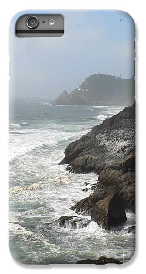 Pacific IPhone 6 Plus Case featuring the photograph Oregon Coast by Larry Keahey
