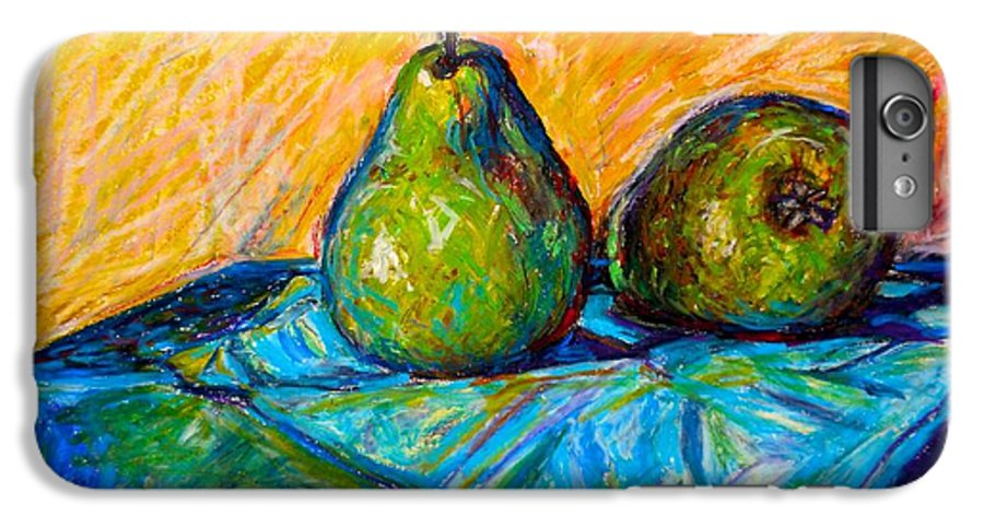 Still Life IPhone 6 Plus Case featuring the painting Other Pears by Kendall Kessler