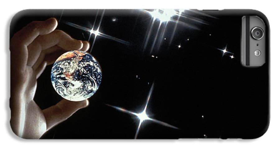Stars IPhone 6 Plus Case featuring the photograph Our Precious Planet by Carl Purcell