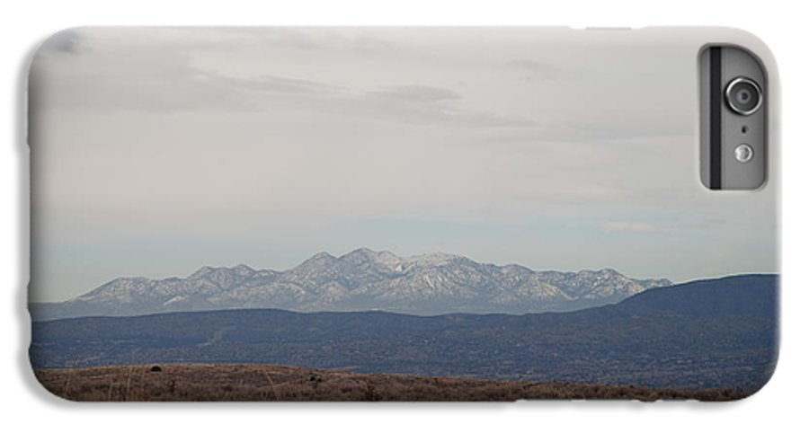 Mountains IPhone 6 Plus Case featuring the photograph Overcast On The Sandias by Rob Hans