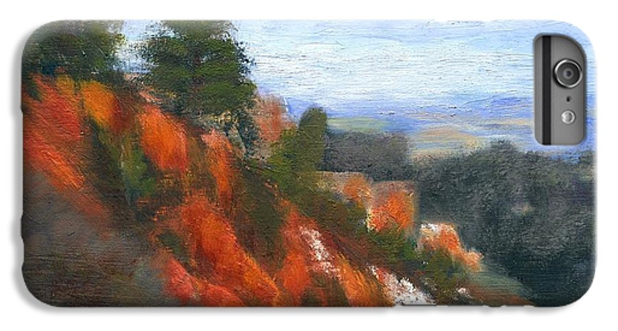 Southwest IPhone 6 Plus Case featuring the painting Overlook by Gail Kirtz