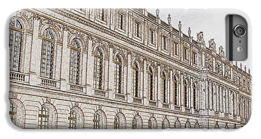France IPhone 6 Plus Case featuring the photograph Palace Of Versailles by Amanda Barcon