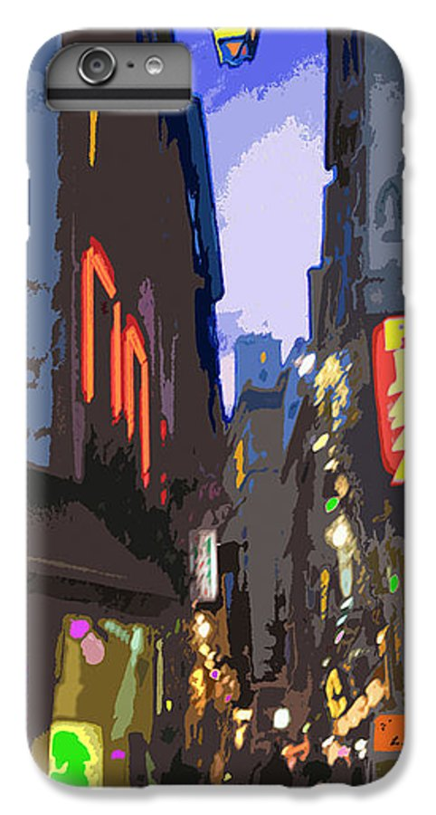 Paris IPhone 6 Plus Case featuring the photograph Paris Quartier Latin 01 by Yuriy Shevchuk