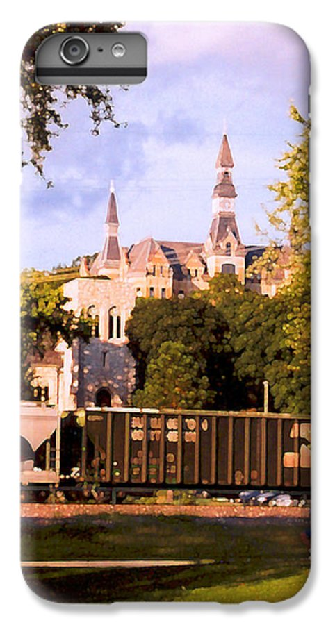 Landscape IPhone 6 Plus Case featuring the photograph Park University by Steve Karol