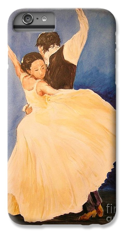 Spain IPhone 6 Plus Case featuring the painting Pasion Gitana by Lizzy Forrester