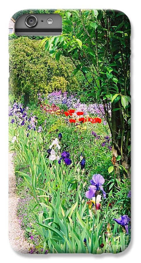 Claude Monet IPhone 6 Plus Case featuring the photograph Path To Monet's House by Nadine Rippelmeyer