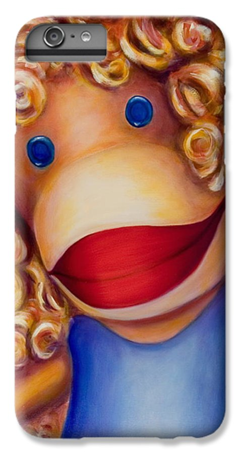 Children IPhone 6 Plus Case featuring the painting Patricia by Shannon Grissom