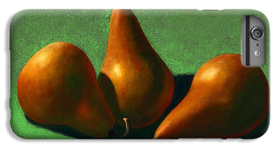 Still Life IPhone 6 Plus Case featuring the painting Pears by Frank Wilson