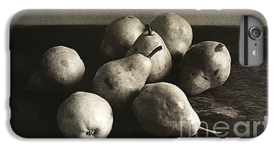 Pears IPhone 6 Plus Case featuring the photograph Pears by Michael Ziegler